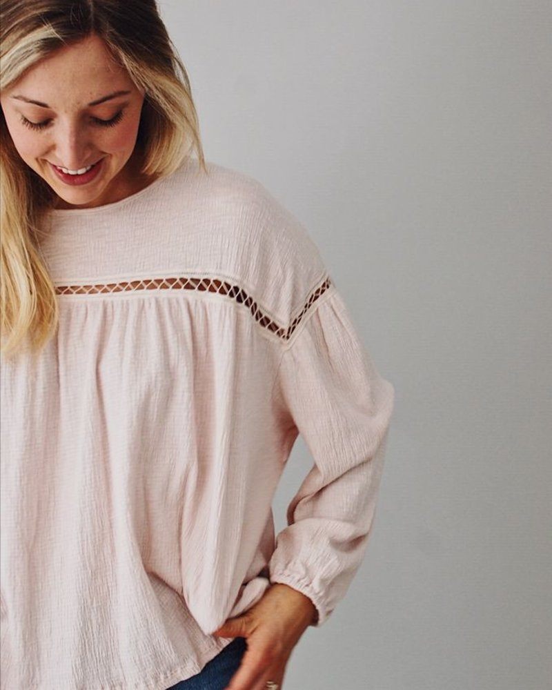 The Bethany Babydoll Top