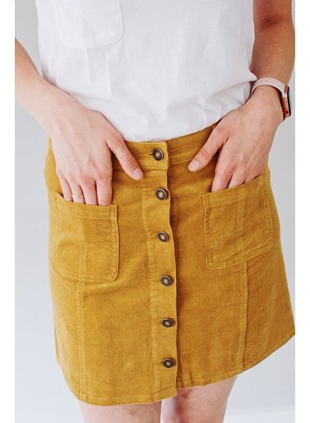 The Piper Corduroy Skirt