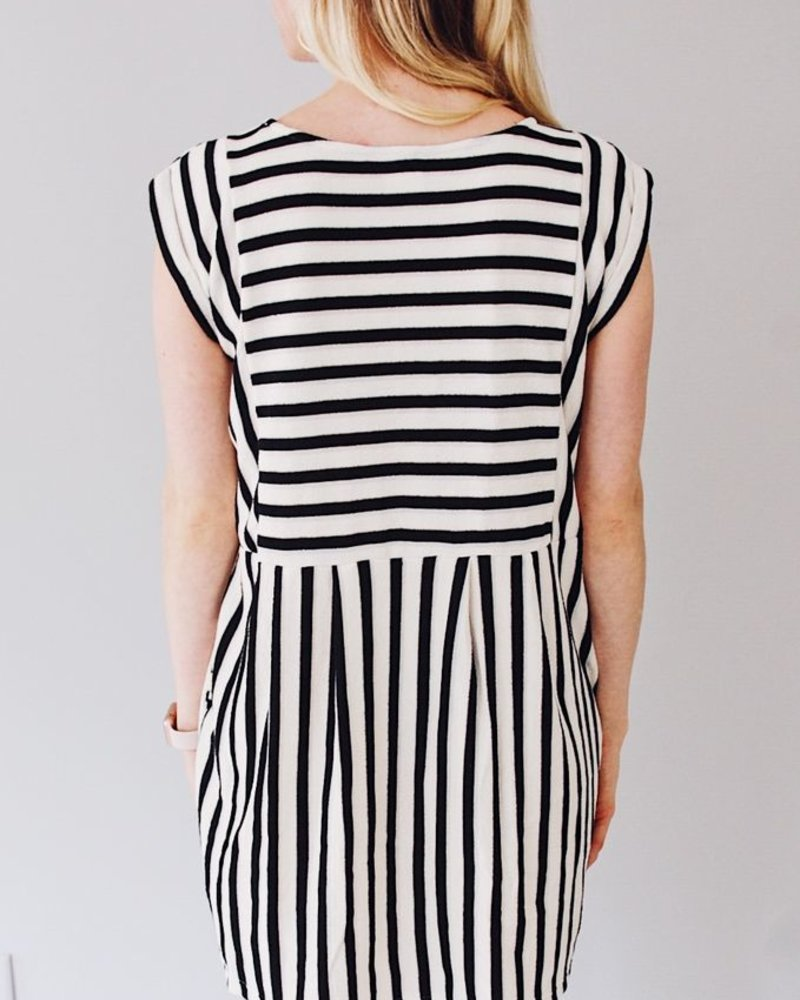 The Nina Stripe Mini Dress