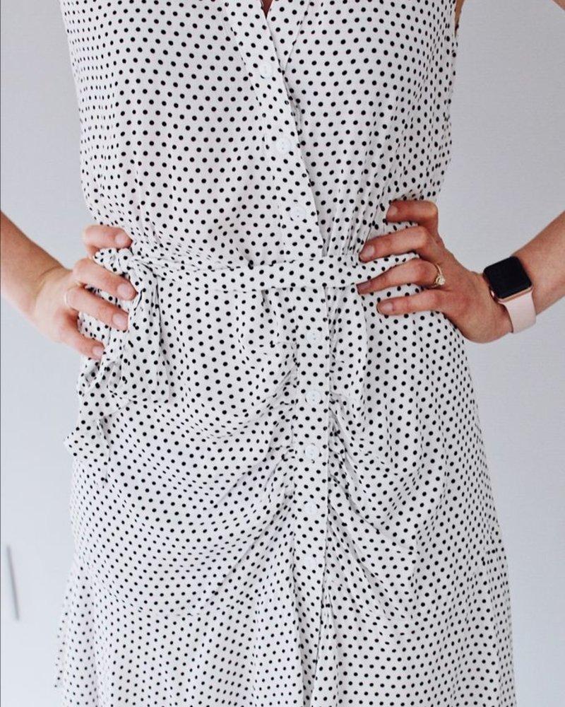 The Claire Polka Dot Mini Dress