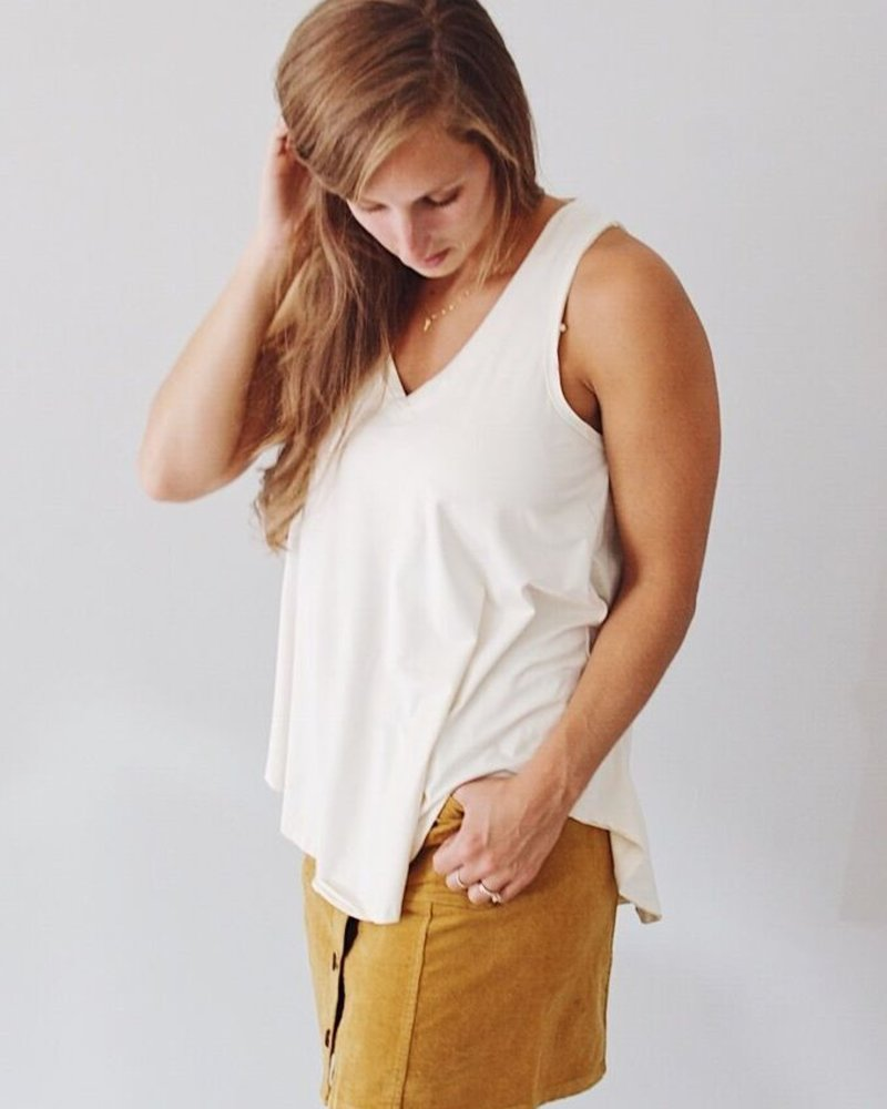 Z-Supply Suede Swing Tank