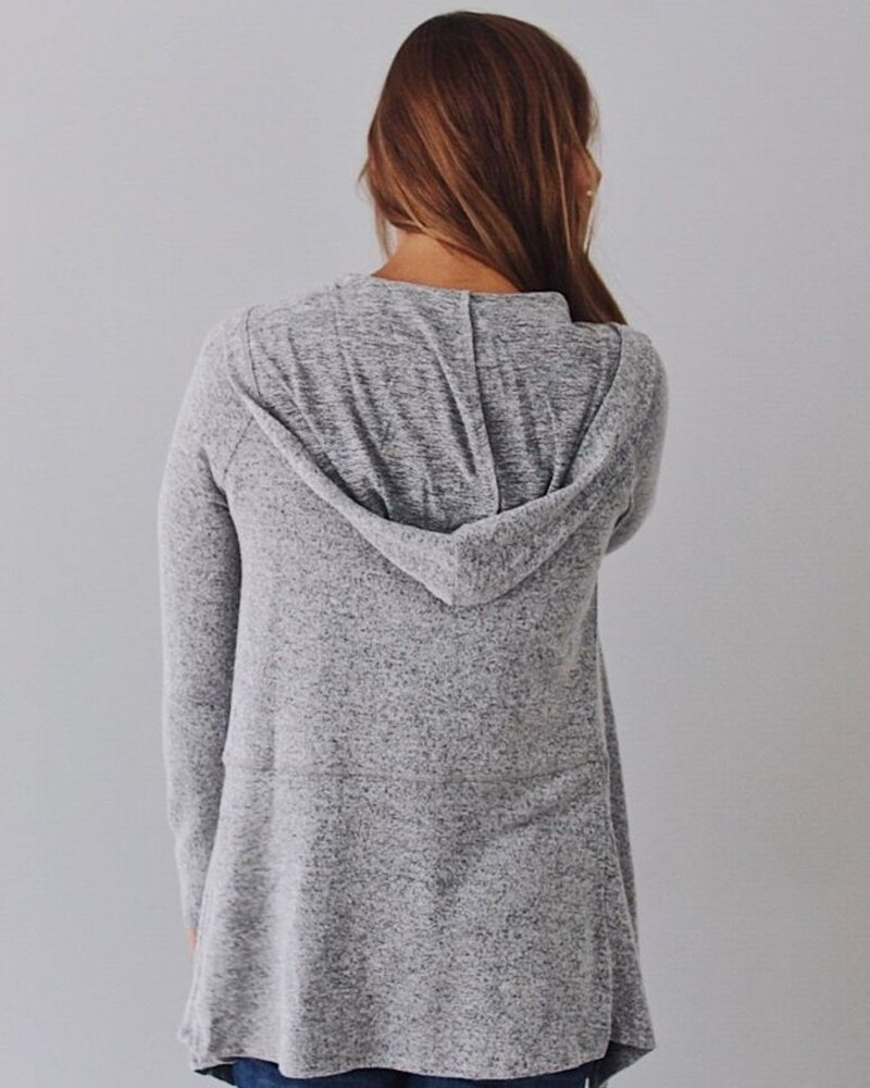 Z-Supply Marled Waterfall Cardigan