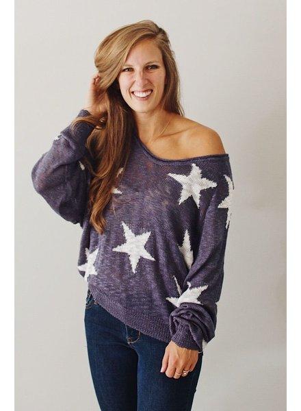 Liberty Star Sweater