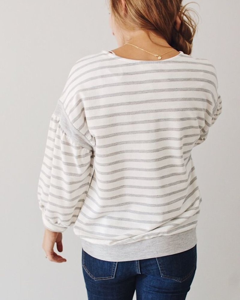 The Becca Bubble Sleeve Top