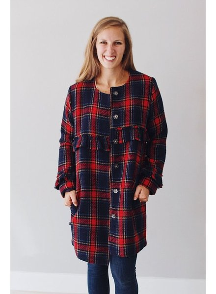 The Foster Plaid Jacket