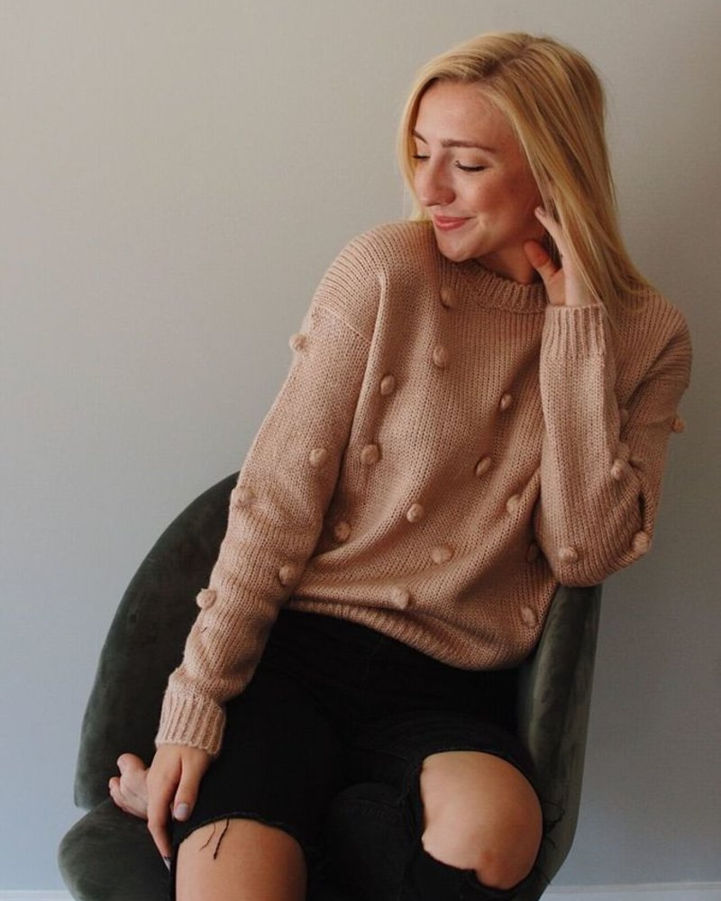 The Casey Pom Pom Sweater