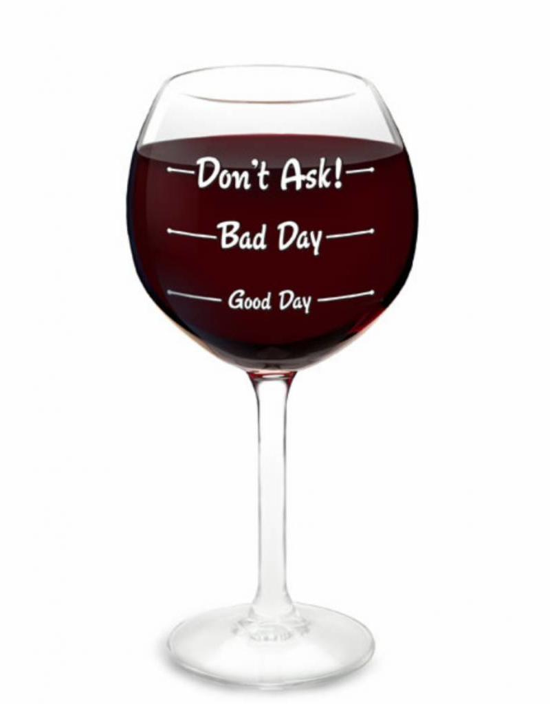 Wine Glass Hows Your Day Jacq Y Jaye S Boutique