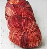 Meadowcroft Dyeworks Rockshelter Sock Red/Orange/Yellows -