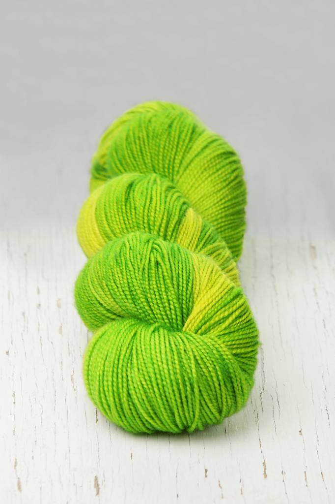 Meadowcroft Dyeworks Rockshelter Sock Blue/Green/Purples (2)