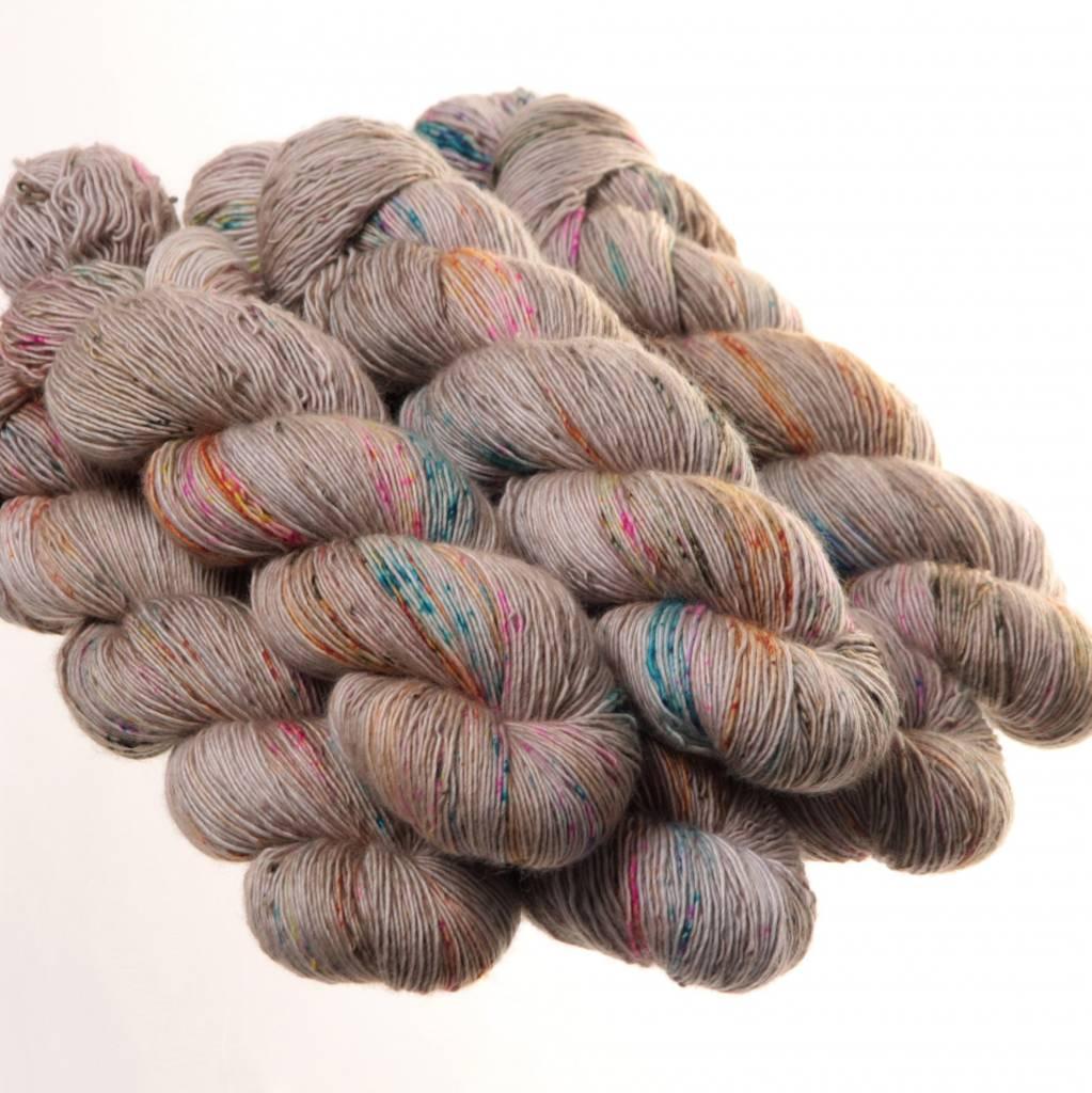 Hedgehog Hedgehog Sock Natural/Greys  -