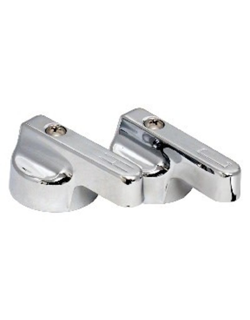 Plumbing Metal Faucet Lever Hot - MNT Supply