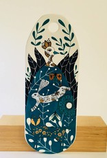 Cheese Board Ceramic Birdland