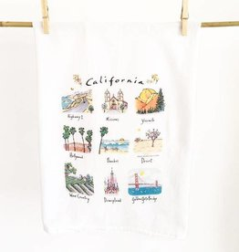 California Tea Towel