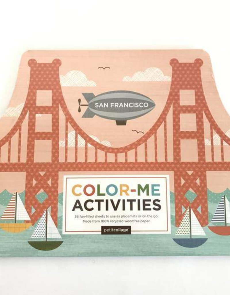 SAN FRANCISCO COLOR ME ACTIVITIES