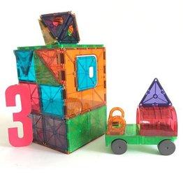 Clear Colors 48 Piece DX Magna-Tiles Set