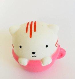 Jeannies Enterprises Cat in a Cup Squishy