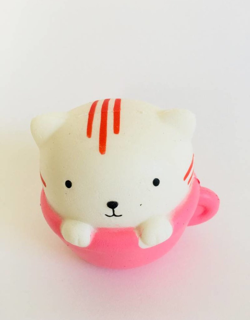 Jeannies Enterprises Cat in a Cup Squishy