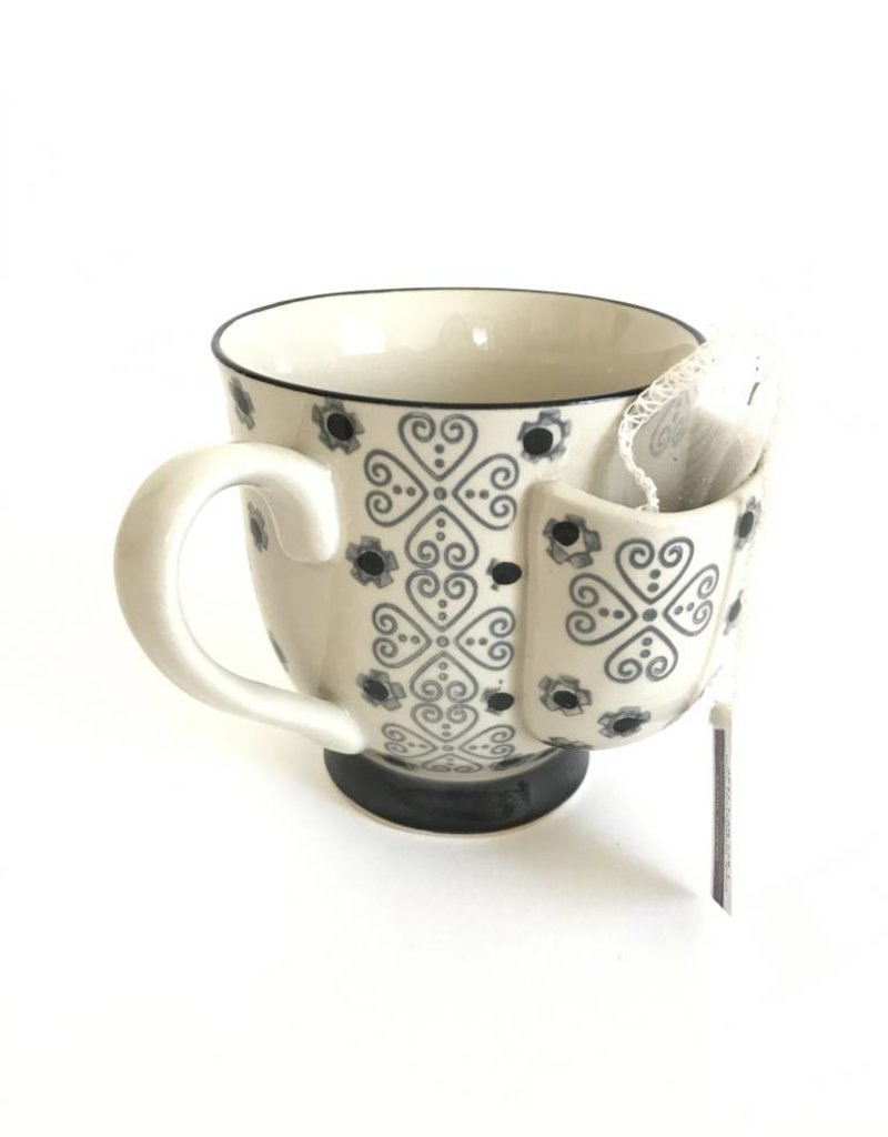 Mug w/Tea Bag Holder