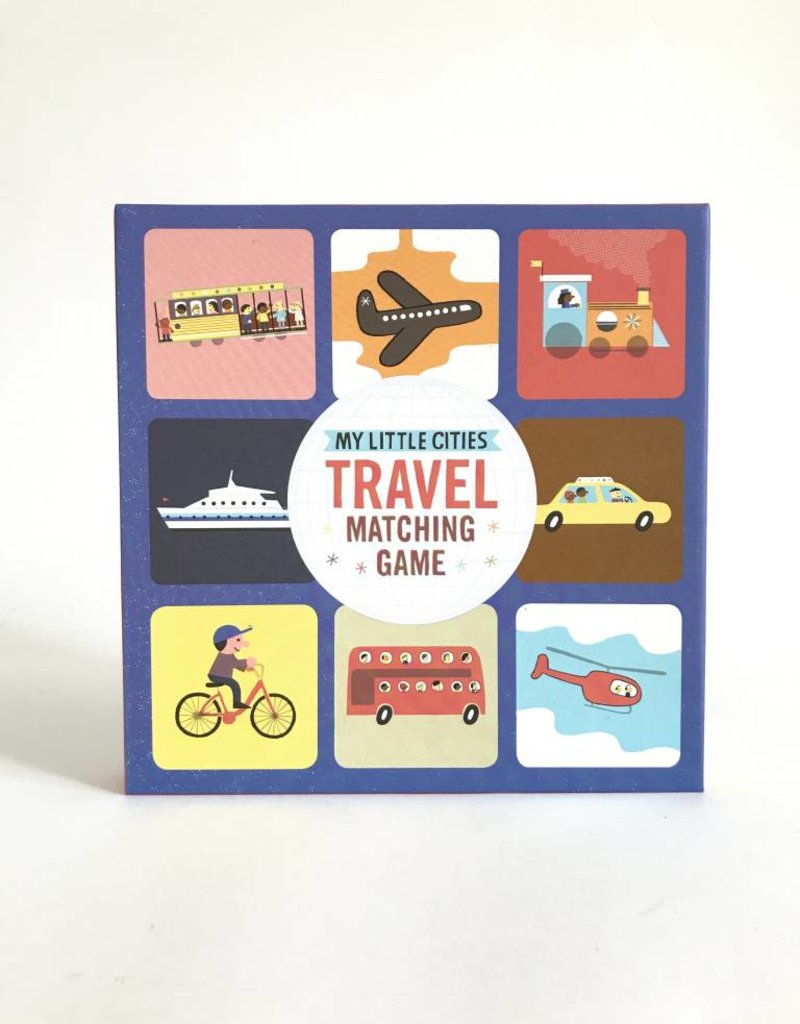 Chronicle Books Travel Matching Game