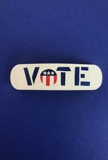 WOLF E MYROW Vintage Vote Barrette