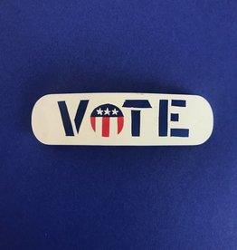 WOLF E MYROW Vintage Vote Barrette