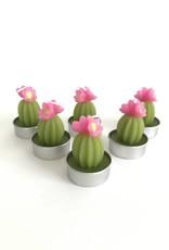 180 Degrees Flowering Cactus Tealight