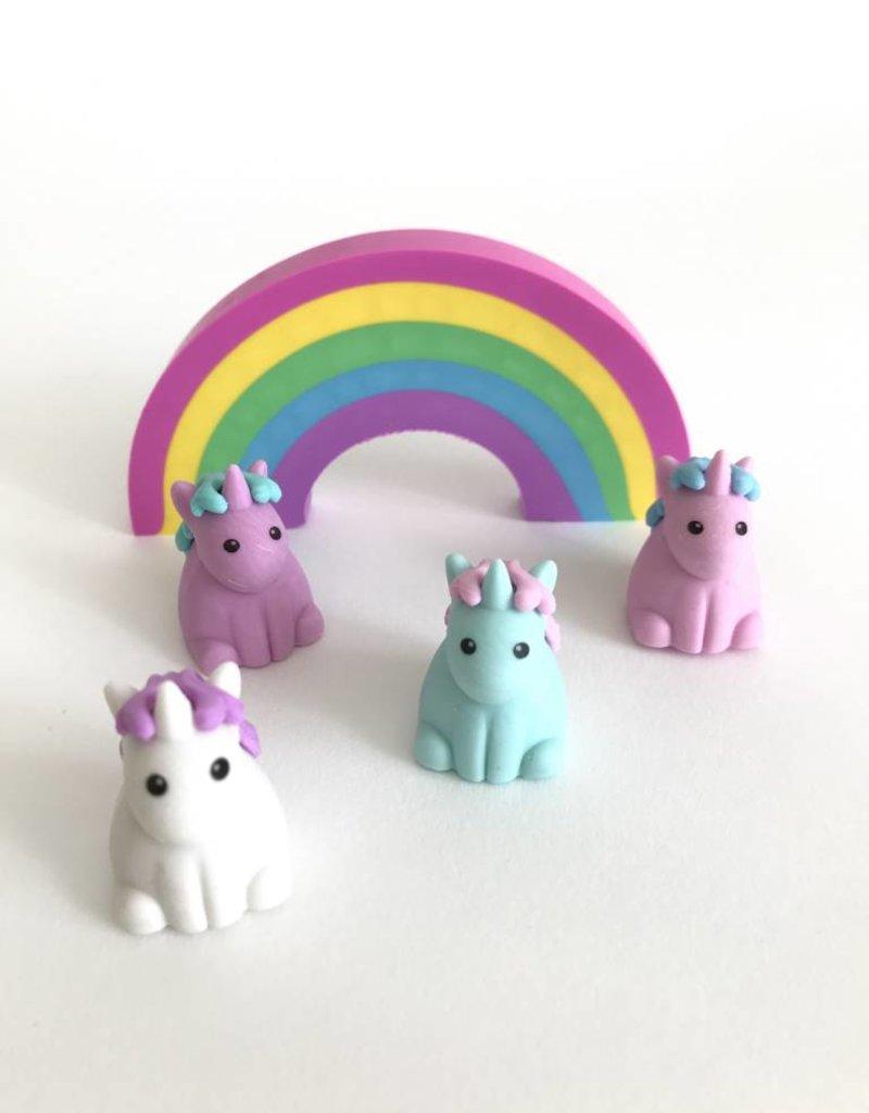 Unique Unicorns Scented Erasers Set of 5