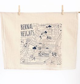 BERNAL HEIGHTS TEA TOWEL
