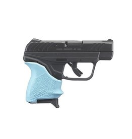 "Ruger Ruger LCP II 2.75"" 380acp FS Black 6rd w/ Turquoise Hogue Grip"