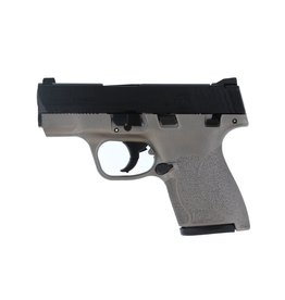 "S&W S&W M&P9 Shield M2.0 3.1"" 9mm FS Black/Stainless 7&8rd w/ Thumb Safety"