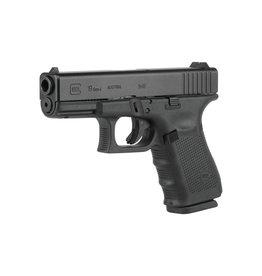"""Glock Glock 19 Gen4 4.01"""" 9mm FS Black 15rd"""