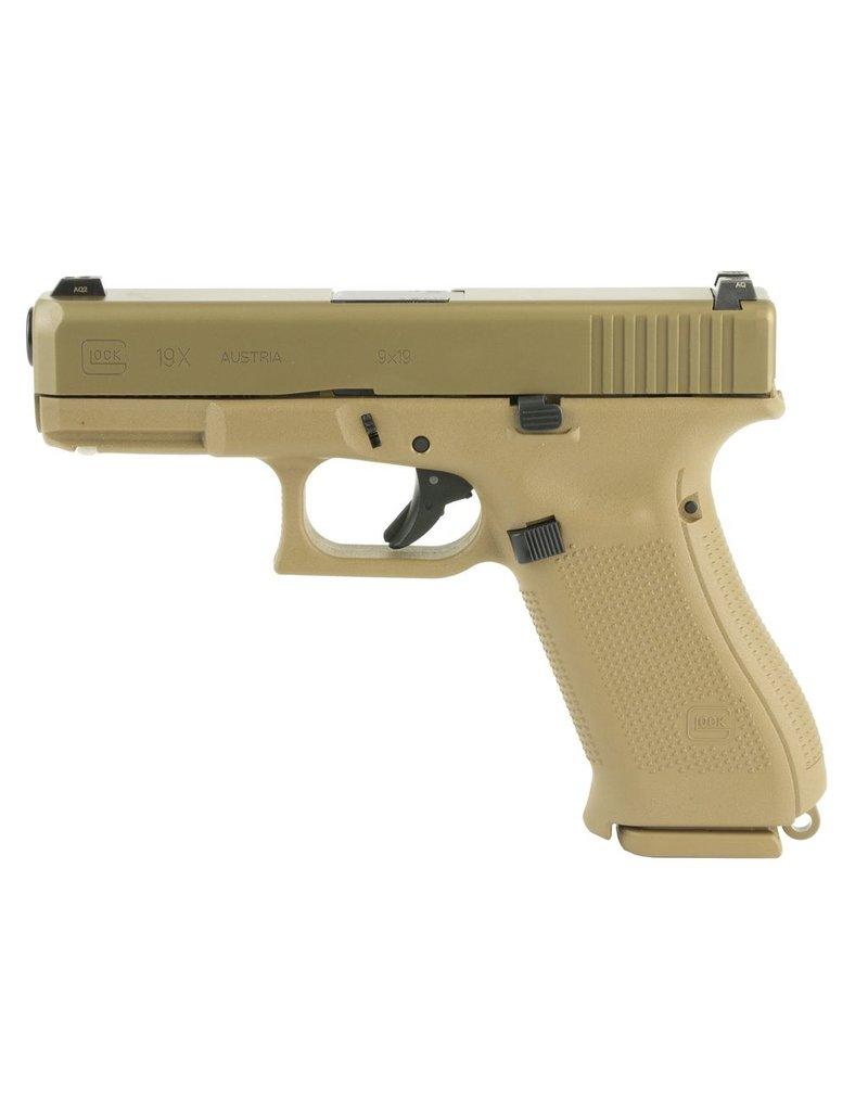 """Glock Glock 19X 4.02"""" 9mm GNS FDE 17/19rd (PX1950703)"""