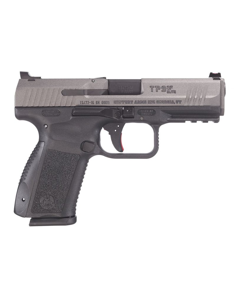 """Century Arms Canik TP9SF Elite 4.19"""" 9mm FS Tungsten Gray 15rd (HG3898T-N)"""
