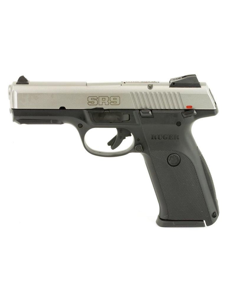 "Ruger Ruger SR9 4.1"" 9mm AS Stainless/Black 17rd (3301)"