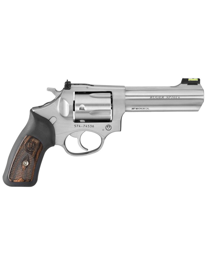 "Ruger Ruger SP101 4.2"" 357mag AS  Stainless 5rd (5771)"
