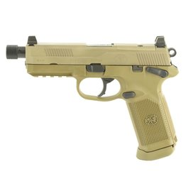 """FN Herstal FNH FNX Tactical 5"""" 45acp NS FDE 15rd"""