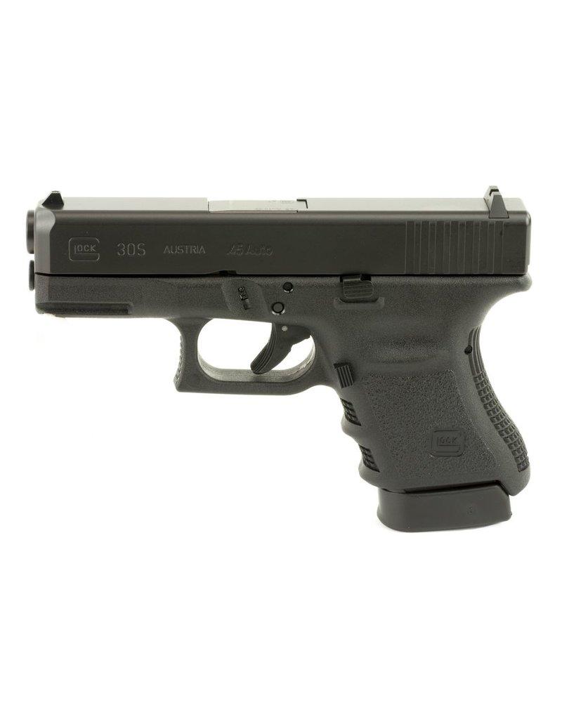 "Glock Glock 30S 3.77"" 45acp FS Black 10rd (PH3050201)"