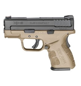 "Springfield Armory Springfield XD MOD.2 3"" 9mm FS Black/FDE 13&16rd"