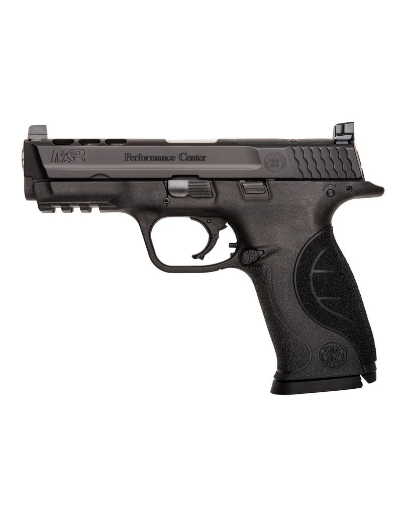 """S&W S&W M&P9 Performance Center Ported 4.25"""" 9mm Fixed Sight Black 17rd (10097)"""