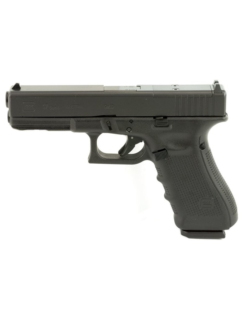 "Glock Glock 17 Gen4 MOS 4.48"" 9mm FS Black 17rd (PG1750203MOS)"