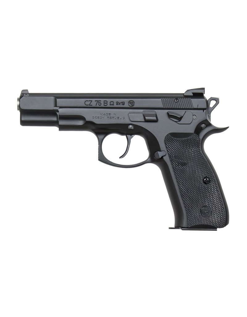 "CZ CZ 75B Omega Convertible 4.6"" 9mm FS Black 16rd (91136)"