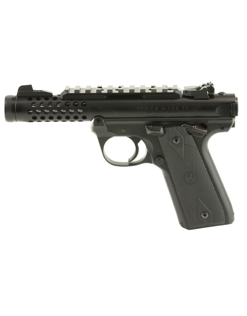 "Ruger Ruger MKIV 22/45 Lite 4.4"" 22lr AS Black 10rd (43906)"