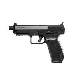 "Century Arms Canik TP9SFT 4.98"" 9mm FS Black 18&20rd (Threaded 13.5x1 LH)"