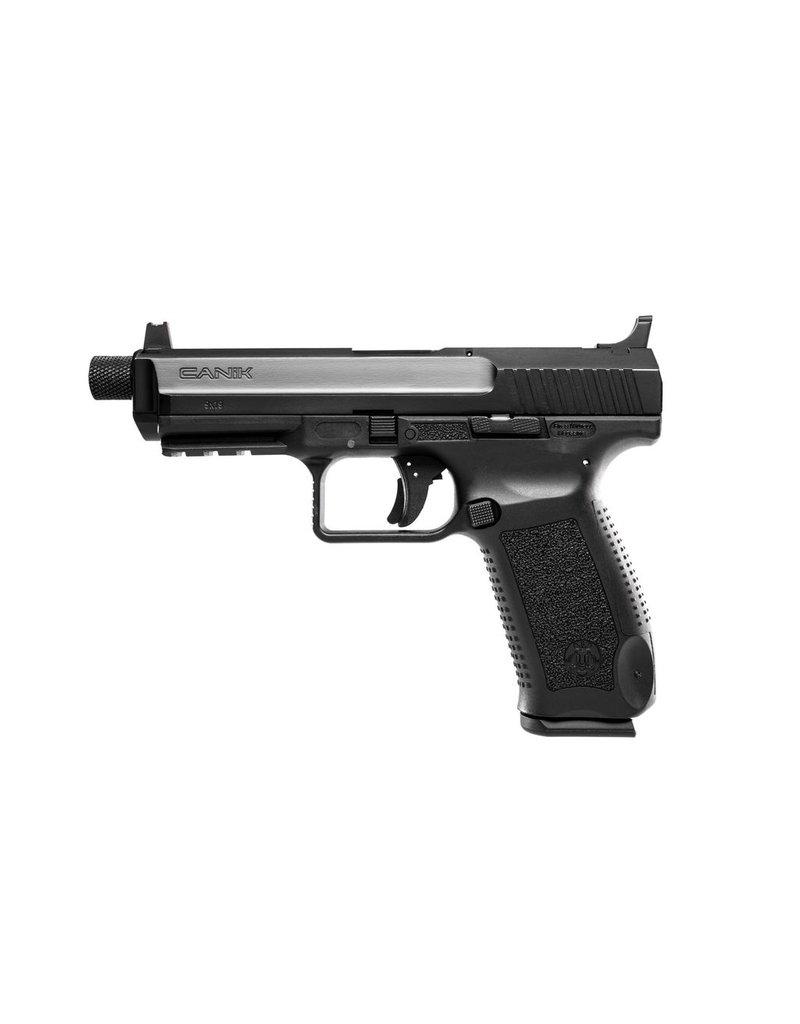 "Century Arms Canik TP9SFT 4.98"" 9mm FS Black 18&20rd (Threaded 13.5x1 LH) (HG4067-N)"