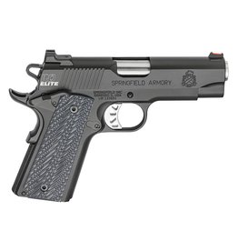 "Springfield Armory Springfield 1911 Range Officer Elite Champion 4"" 9mm FS Black 9rd"