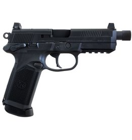 "FN Herstal FNH FNX Tactical 5"" 45acp NS Black 15rd w/ Threaded Barrel"