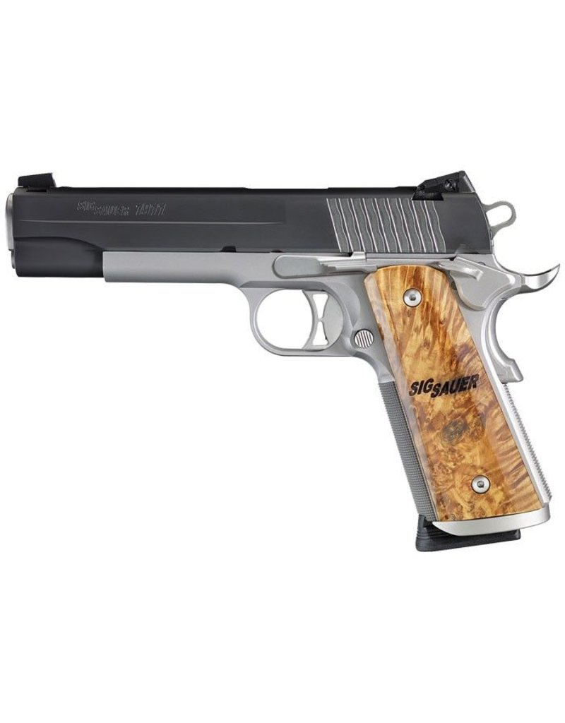 "Sig Sauer Sig Sauer 1911 STX Full-Size 5"" 45acp NS Black/Stainless 8rd (1911-45-STX)"