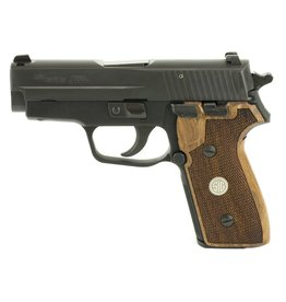 "Sig Sauer Sig Sauer P225-A1 3.6"" 9mm NS Black 8rd w/ Wood Grips"