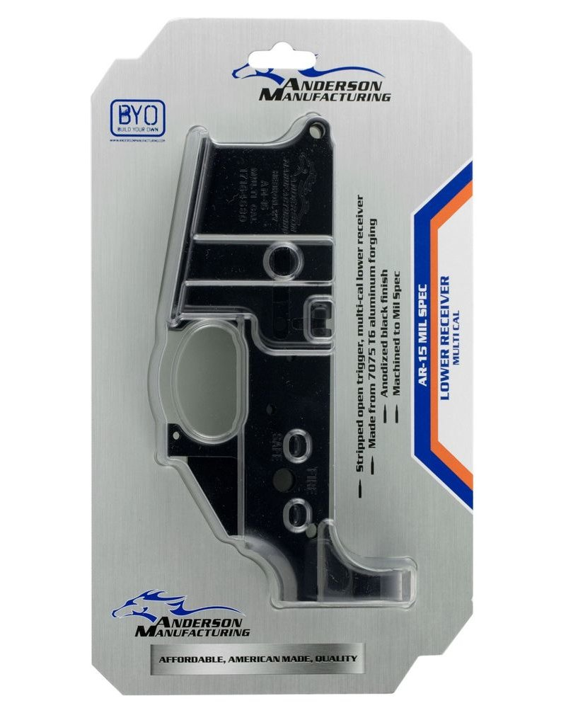 Anderson MFG Anderson MFG (AR15) Stripped Lower Receiver (D2-K067-A000)