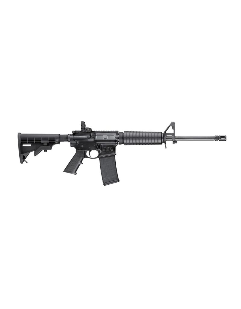 """S&W S&W M&P15 Sport II (AR15) 16"""" 5.56mm Magpul MBUS Rear Sight A2 Front Sight Post Black 30rd (10202)"""
